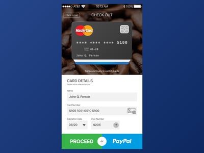 Dailyui002 Dribbble ui checkout card credit dailyui002 dailyui