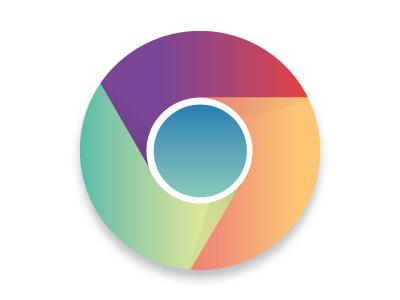 Google Chrome Play Icon google chrome icon play colors fun vector