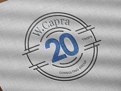 W-Capra Logo Redesigned inspiration graphic clean modern consulting graphicdesign logodesign brand identity print photoshop illustration vector designer typography logo branding dribble shot design creative dribbleartist