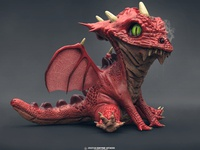 Baby Dragon Re-render
