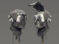 Helmet Skull 02
