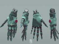 Mecha Hand 02