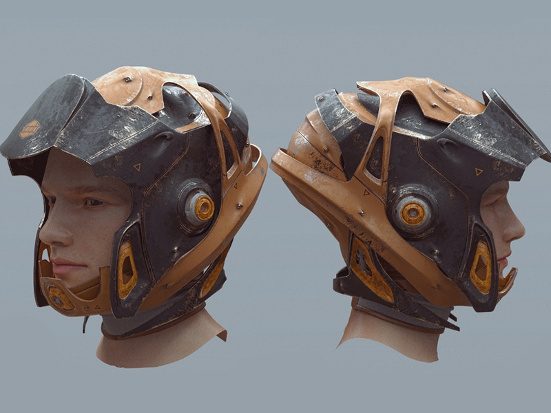 Alien Armor Concept Art