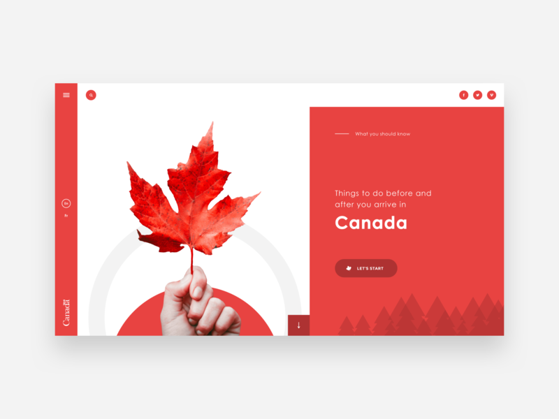 UI Design - Canadian Citizenship