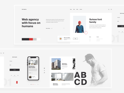 Website Stylescape For Design Agency - Nordic Minimalist