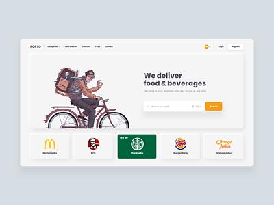 UI Design - Food Delivery neumorphism restaurant app restaurant food delivery website design inspire graphic design ui ux ui design trends creative landing page inspiration website ux design ui design