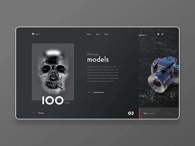 Photogrammetry Process - Website Design graphic design creative design trends ui ux ui landing page inspiration website ux design ui design