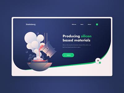 Stakksberk Project - Website Design creative inspire modern design interface design design web trends website design ux design ui design ux ui ux ui graphic design web design