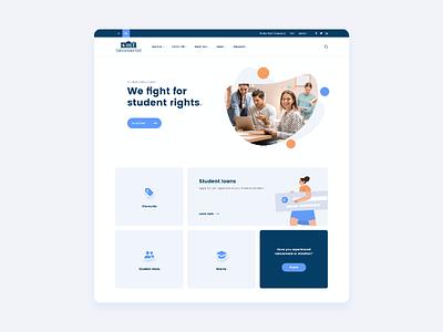Student Body Council - UI Design ui trends web trends website design ux design ui design web design
