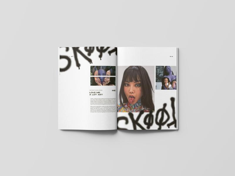 NOVATION_01 culture rap magazine graphic design