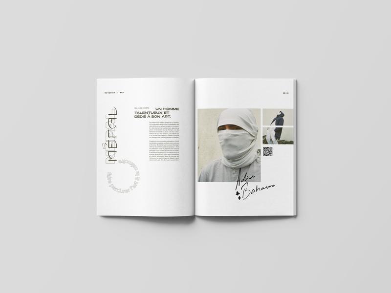 NOVATION_03 culture rap magazine graphic design