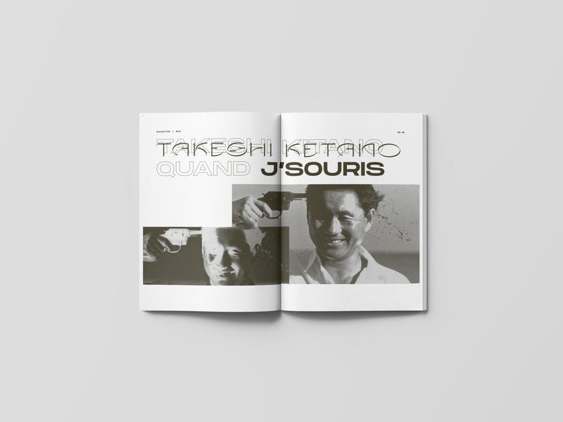 NOVATION_04 culture rap magazine graphic design