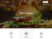 Fast Food & Diner Restaurant Website Design