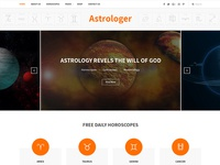 Astrology Readymade web page designs