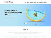 Web Agency Website Template