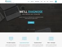 readymade template for web development company