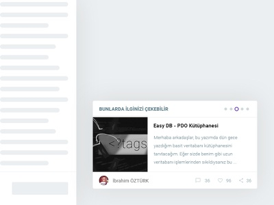 Related Posts posts related post blog website ui ux material design