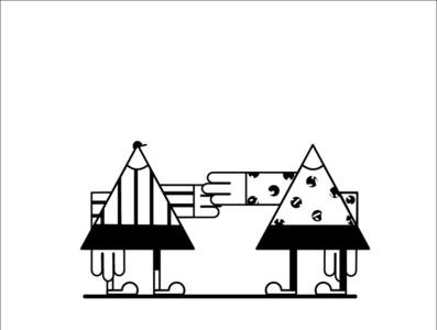 'Kile' the Character: Hello design ux vector illustration flat illustration