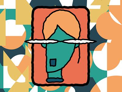 vola (orange hair) illustration vector illustrator flat illustration