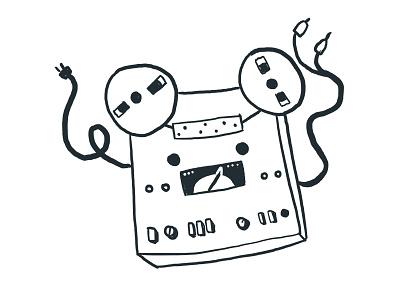 Tape Reel character reel tape