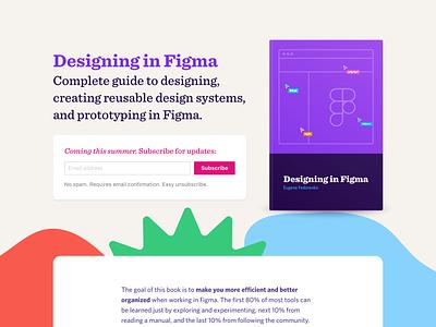 Designing in Figma design book figma