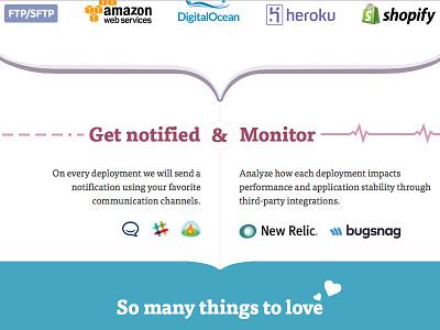 DeployBot workflow notifications monitor deployments deploy deploybot