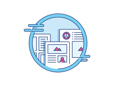 Awesome Kit Icon #2 well awesome kit clean ux ui outline flat icon illustration