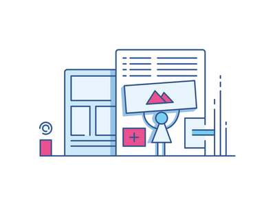 Awesome Kit Icon #3 well awesome kit clean ux ui outline flat icon illustration