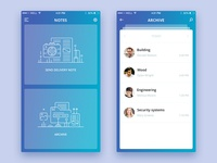 Delivery note App