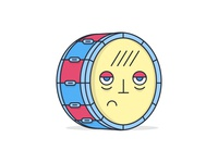 Tired Drum