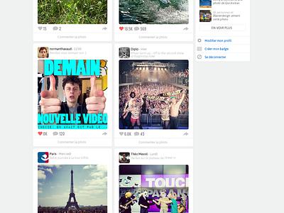 Instagram Website  instagram website redesign