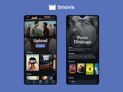 Smovie movie app tv show time hulu android playstore reactjs react native actors actor series tv shows tv show movies movie imbd themoviedtb mycanal netflix app