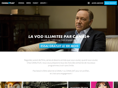 Landing CANALPLAY canalplay netflix streaming vod canal canalplus video download