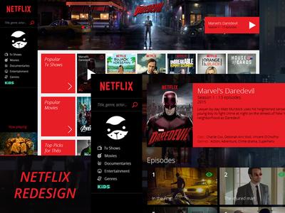 Netflix - Website Redesign
