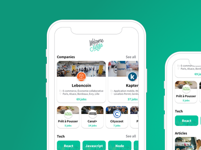 Welcome to the jungle - Homepage sketch ui redesign green jungle home homepage app app  design