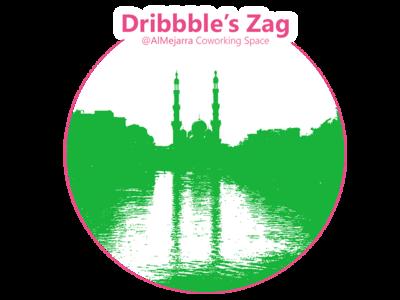 Zagazig Meetup WIP Logo space coworking zag dribbblers المجرة almejarra zagazig