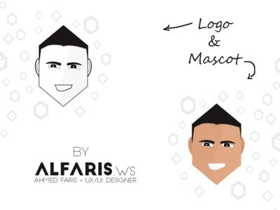personal branding illustrated logo mascot design logo illustrate branding personal