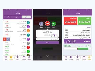 Folosy APP Design user interface design ux ui application money management folosy feen folosy
