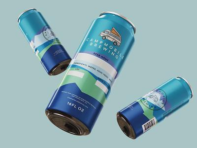 Campmobile Brewing methodologi advertising branding illustration brand identity marketing retail packaging design package design packaging beer