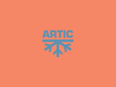 ARTIC design for hire freelance business corporate logo mark identity brand logotype