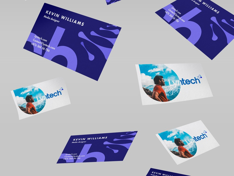 Lyntech retail design retail freelance design advertising identity brandmark marketing logo logotype brand