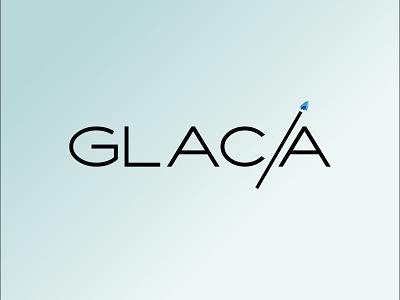 GLAC/A retail luxury branding identity logotype logo