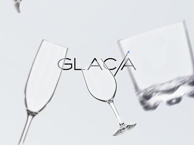 GLAC/A brand identity brand design advertising identity logo logotype brand