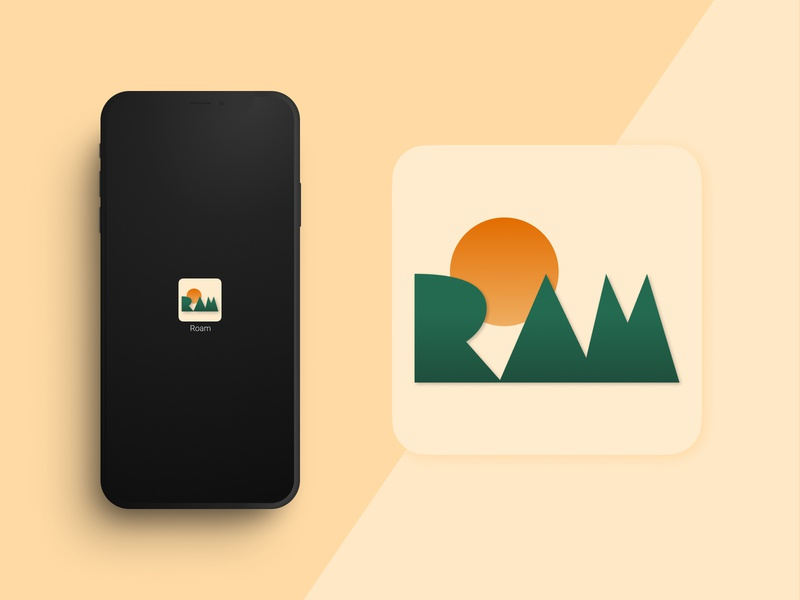 Daily UI 005 - App Icon hiking app icon dailyui005 dailyui