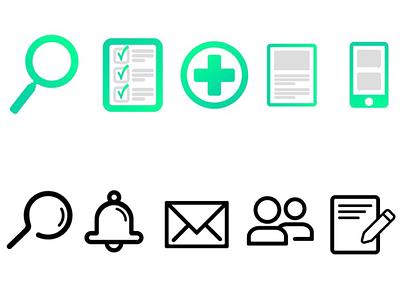 Icon Sets icon design illustrator myfirsticons udemy iconset icons