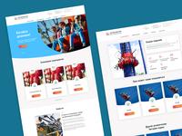 UX/UI Design for Amusement Park site centralpark.kh.ua