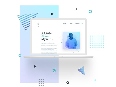 About Page – Personal Site