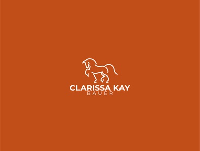 Law firm Logo linear law horse logo horse