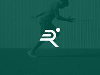 Running logo concept