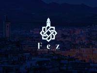 Fez Medina logo concept
